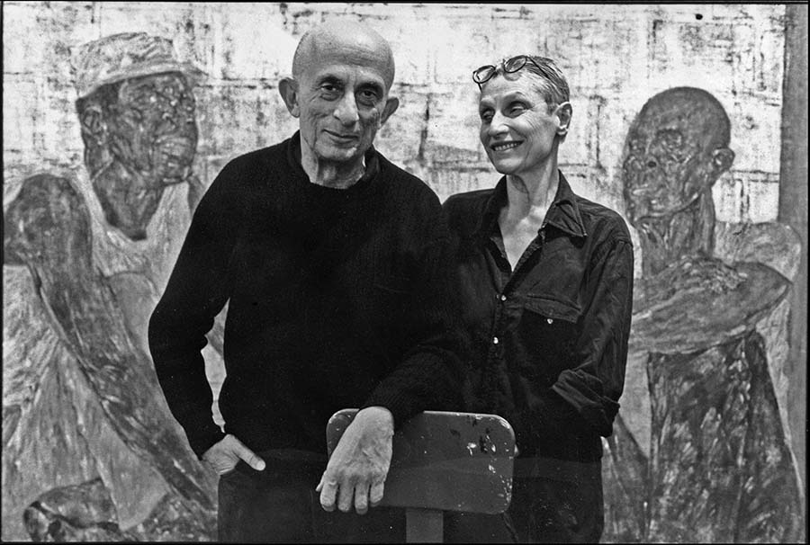 11-Leon-Golub-and-Nancy-Spero-New-York-1989
