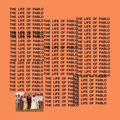 """The Life of Pablo"" album cover"
