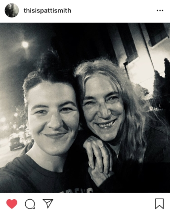Patti Smith and her daughter Jesse